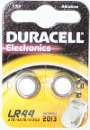 Duracell LR44 Pack of 2 Alkaline Batteries