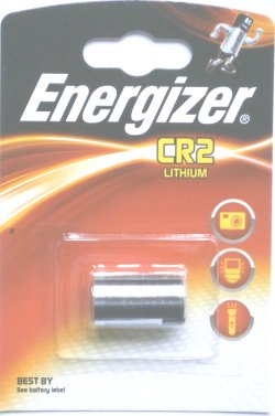 Energizer CR2 3 Volt Photo Lithium Battery