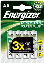 4 Energizer AA 2000mah ACCU Rechargeable batteries - Click Image to Close