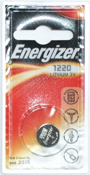 Energizer CR1220 3 Volt Lithium Battery