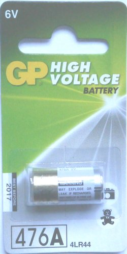 GP 4LR44 Alkaline 6 Volt Battery ( 476A )