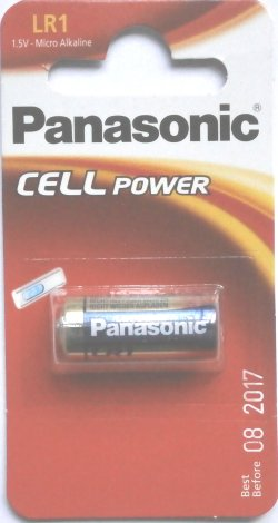 Panasonic LR1 1.5 Volt Alkaline Battery