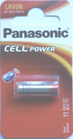 Panasonic LRV08 12 Volt Battery