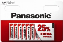 Panasonic AAA Zinc Carbon Batteries 10 for the price of 8