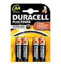Duracell Plus Duralock AA Batteries Pack of 4