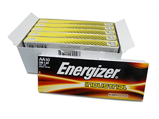 Energizer Industrial AA Batteries Box of 60