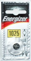 Energizer CR1025 3 Volt Lithium Battery