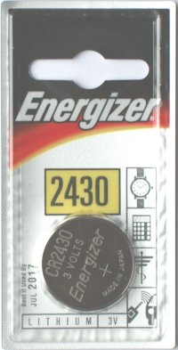 Energizer CR2430 3 Volt Lithium Battery
