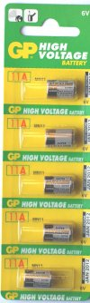 GP 11A 6 Volt Batteries Pack of 5