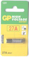 GP 27A Alkaline 12 Volt Battery