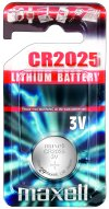 Maxell CR2025 Lithium 3 Volt Battery