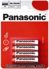 Box of 48 Panasonic Zinc Carbon AAA Batteries