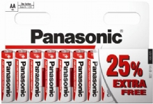 Panasonic AA Zinc Carbon Batteries 10 for theprice of 8