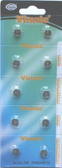 AG4 Pack of 10 from Vinnic ( L626, 377 )